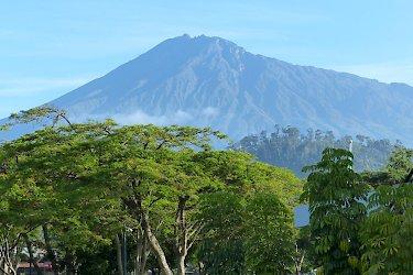 Blick auf den Mount Meru