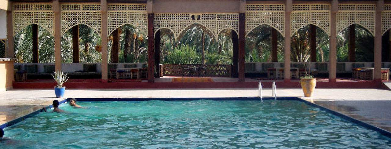 Schwimmbad Kasbah Itrane