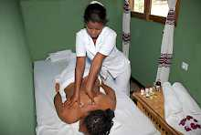 Massage in der Buska Lodge