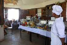 Restaurant der Lalibela Lodge