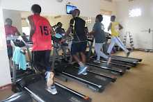 Fitnessstudio des Churchill Courts Hotels