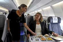 Service in der Business Class