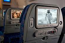 In Flight Entertainment in der Economy Class