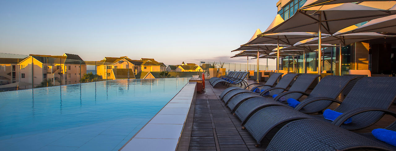 Pool des Radisson Blu Port Elizabeth