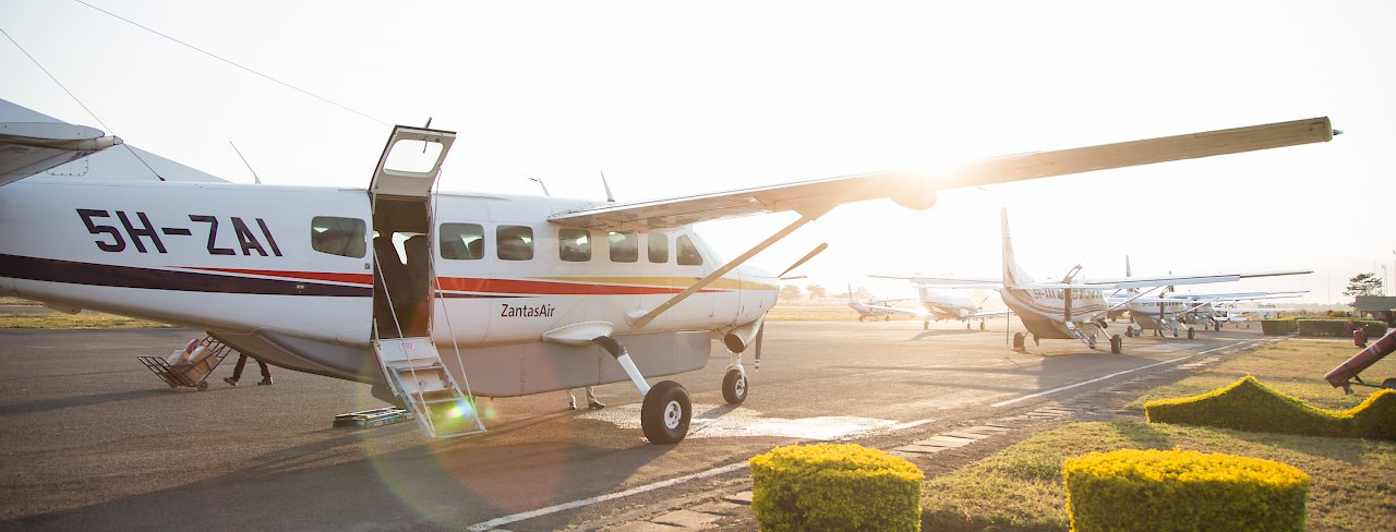 Cessna Grand Caravn der Zantas Air