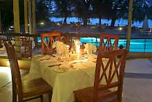 Restaurant der Chobe Safari Lodge