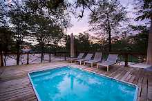 Pool der Mankwe Bush Lodge