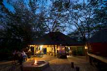 Terrasse der Mankwe Bush Lodge