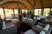 Lounge der Nkasa Lupala Tented Lodge
