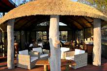Restaurant der Nkasa Lupala Tented Lodge