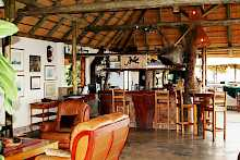 Bar der Nunda River Lodge