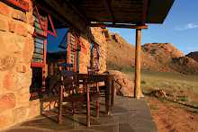 Eagles Nest der Canyon Lodge die Terrasse