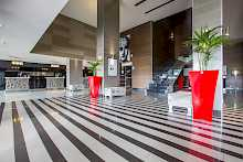 Rezeption des Radisson Blu Port Elizabeth