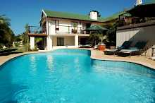 der Pool im Knysna Country House