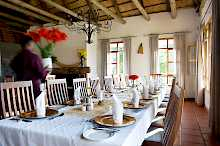 Restaurant in  Ngorongoro Farmhouse