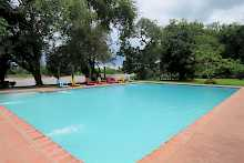 der neue Pool im Croc Valley Camp