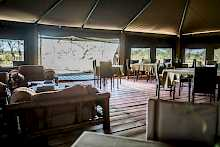 Restaurant im Ang'ata Migration - Ndutu Camp